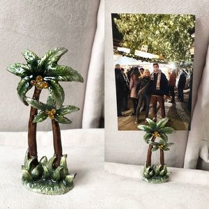 Palm Tree Photo Holder/ Decor
